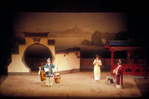 Nanking-Oper: Der Ölverkäufer. Foto: Ulrich Horb