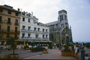 Biarritz, Kirche Sainte-Eugénie. Foto: Ulrich Horb