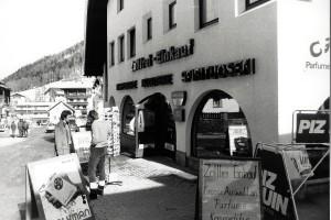 Samnaun: Zollfreier Einkauf. Foto: Ulrich Horb