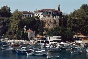 Alter Hafen von Antalya. Foto: Ulrich Horb