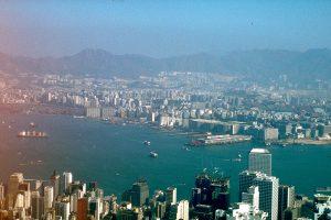 Blick über Hongkong 1983. Foto: Ulrich Horb
