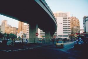 Hongkong, Schnellstraße 1983. Foto: Ulrich Horb