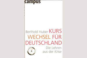 """Cover """"Kurswechsel für Deutschland"""""""