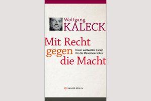 """Cover """"Mit Recht gegen die Macht"""""""