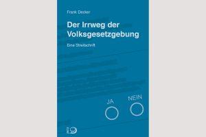 """Cover """"Irrweg der Volksgesetzgebung"""""""