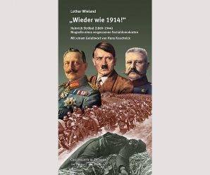 Mahner vor dem Zweiten Weltkrieg: Der vergessene Sozialdemokrat Heinrich Ströbel (2012)