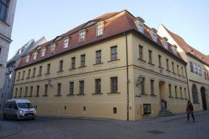 Halle (Saale): das Geburtshaus Händels. Foto: Ulrich Horb