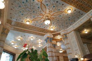 Decke des Café Imperial. Foto: Ulrich Horb