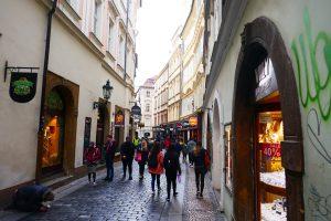 Prager Altstadt. Foto: Ulrich Horb
