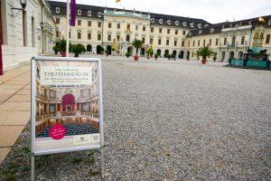 Eingang zum Ludwigsburger Theatermuseum. Foto: Ulrich Horb