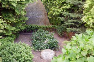 Grab von Gerhard Hauptmann. Foto: Ulrich Horb