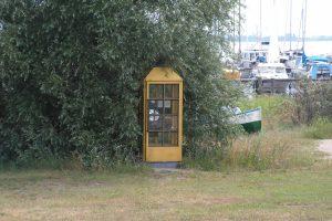 Telefonzelle aus DDR-Zeiten. Foto: Ulrich Horb