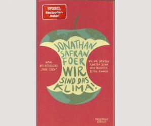 """""""Wir sind das Klima"""": Frühstücken mit Jonathan Safran Foer"""