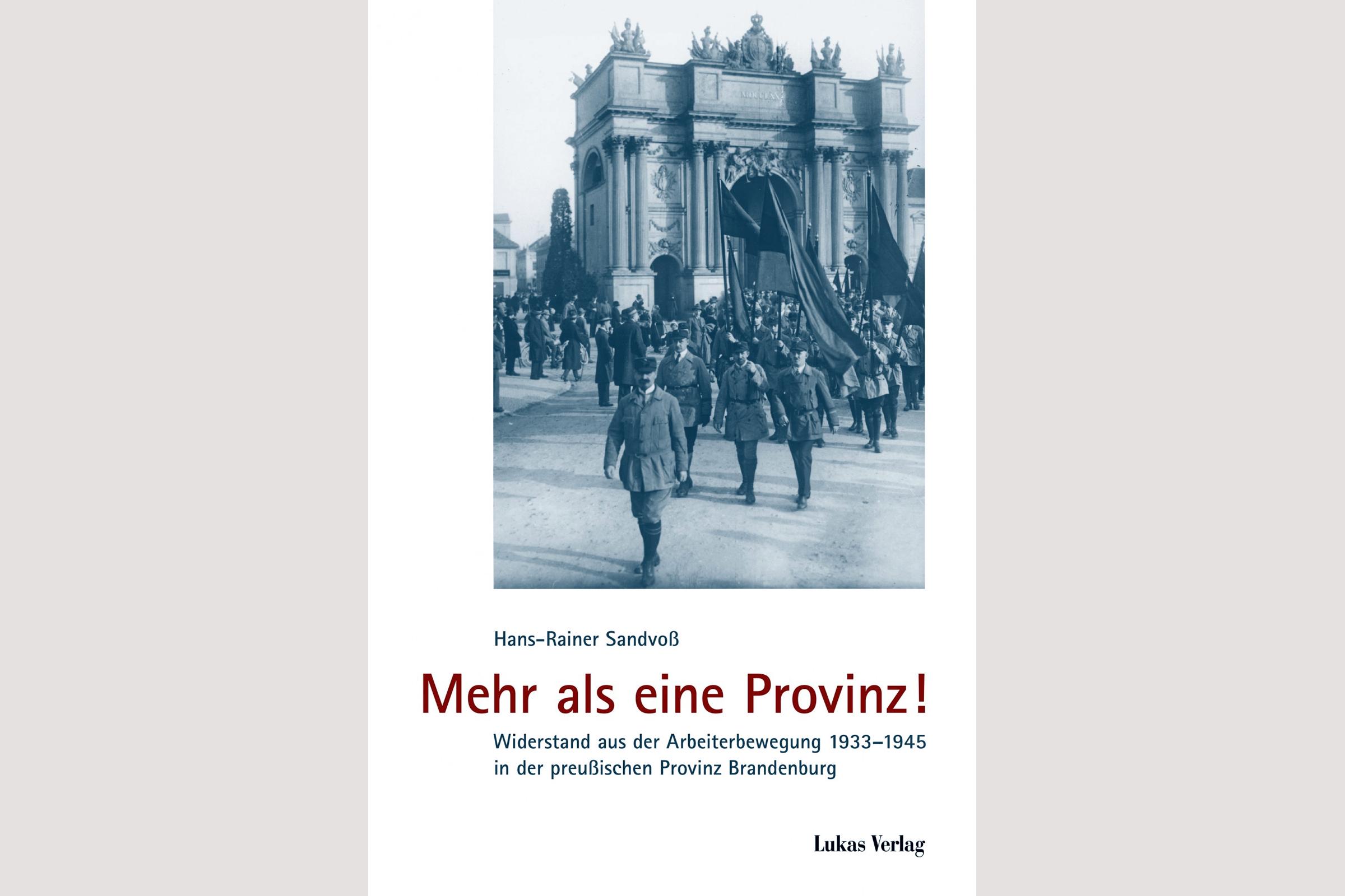 """Cover """"Mehr als eine Provinz"""" von Hans-Rainer Sandvoß"""